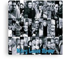 Mary Louise Streep Canvas Print