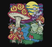 Mushroom Dream by GalletaRaton