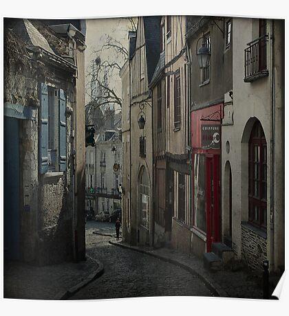 _ vieux quartier _ Poster