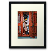 Bat Man Framed Print