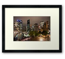 Arcadia In Sydney Harbour Framed Print