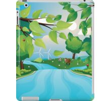 Hills and River iPad Case/Skin