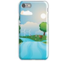 Hills and River 2 iPhone Case/Skin