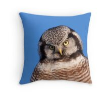 Northern Hawk Owl 5 Throw Pillow