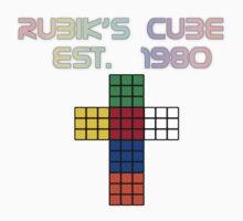 Rubik's Cube Est. 1980 Kids Clothes