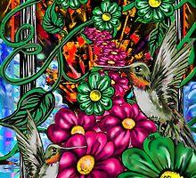 """Incense & Hummingbirds"" by Steve Farr"