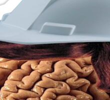 mr buisness brain Sticker