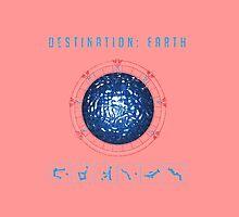 Destination Earth chevron symbols pink by Vinchenko