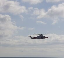 coastguard helicopter by brucemlong