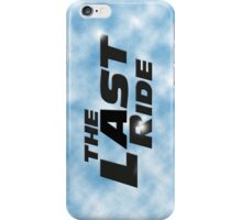 The Last Ride iPhone Case/Skin