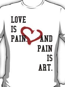 Graffiti Heart T-Shirt