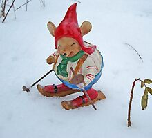 Angus - the skiing mouse by Paola Svensson