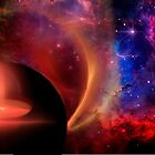 Space Abstract by Carol and Mike Werner
