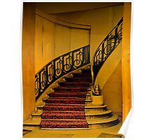 DECO STAIRCASE IN HOTEL PARIS Poster