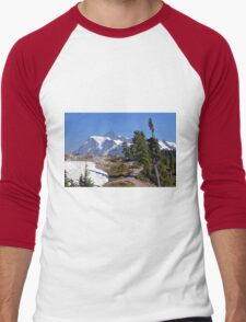 Spring in the Mountains Men's Baseball ¾ T-Shirt