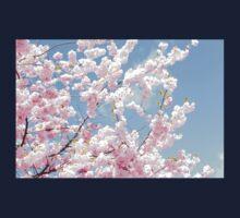 Blooming cherry tree - flower / floral design Kids Tee