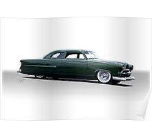 1952 Ford Custom Coupe Poster