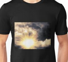 Light through Dramatic Sky Unisex T-Shirt