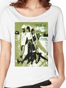The three stoogs... Women's Relaxed Fit T-Shirt