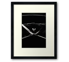 The Silver Lady And Her Ribbons Framed Print