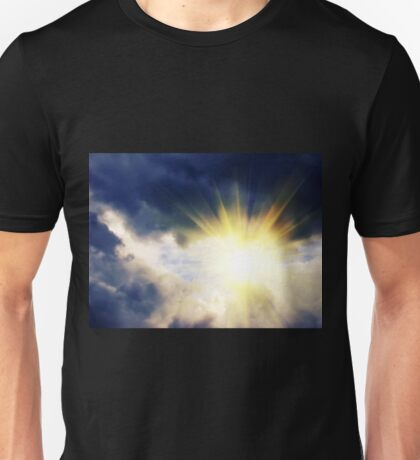 Light through Dramatic Sky 2 Unisex T-Shirt