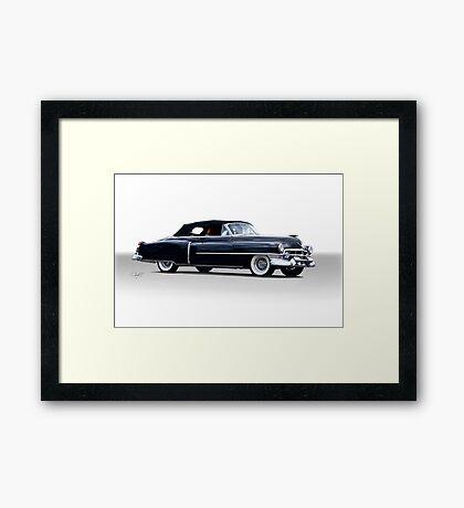 1953 Cadillac El Dorado Convertible Framed Print