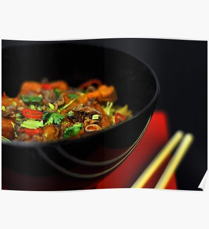 Chinese Noodles  Poster