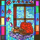 Window cat by judith murphy