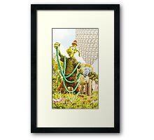 Goofy Waters The Garden Framed Print