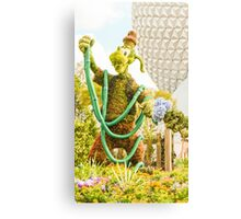 Goofy Waters The Garden Canvas Print