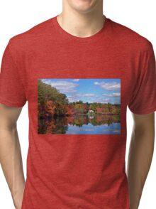 Reflections of Autumn Tri-blend T-Shirt