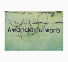 A wonderful world One Piece - Short Sleeve
