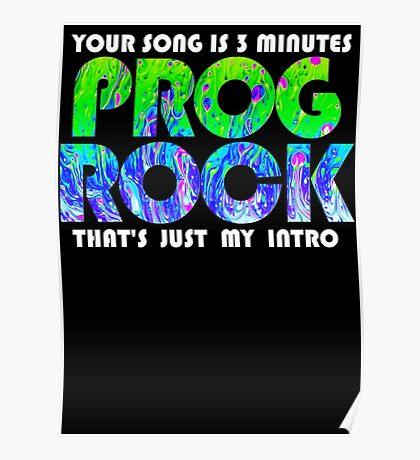 Prog Rock Liquid 3 Minutes Poster