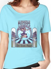 Roller Derby Nouveau: The Massacre of Spring (French) Women's Relaxed Fit T-Shirt