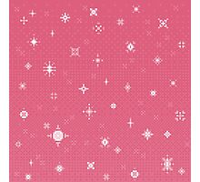 Pretty Pink Starlight (8bit) Photographic Print