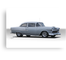 1955 Chevrolet  210 'Post Coupe' Canvas Print