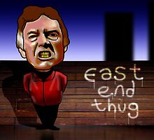 Alan Ford - Eastend thug  by mouseman