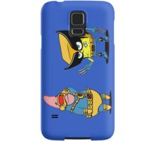 spongebob and patrick-x men Samsung Galaxy Case/Skin