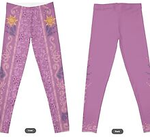 Rapunzel Leggings by Cat Vickers-Claesens
