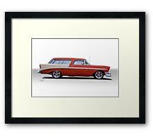 1956 Chevrolet 'Nomad' Wagon Framed Print