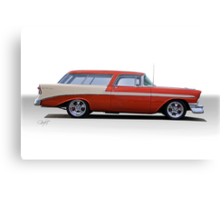 1956 Chevrolet 'Nomad' Wagon Canvas Print