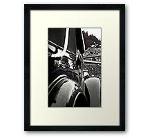 Rear View Framed Print