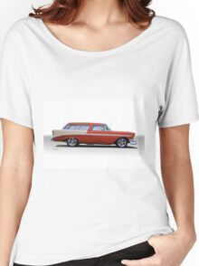 1956 Chevrolet 'Nomad' Wagon Women's Relaxed Fit T-Shirt