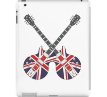 British Mod Union Jack Guitars iPad Case/Skin