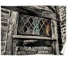 Tudor window Poster