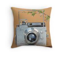 Classic Camera Plaubel Makina Throw Pillow