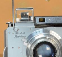 Classic Camera Plaubel Makina Sticker