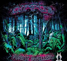 Diffus - Forest Dwellers EP by Diffus