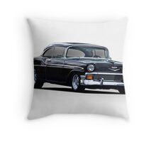 1956 Chevrolet Bel Air Hardtop  Throw Pillow