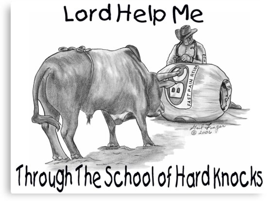 Lord Help Me Through the School of Hard Knocks by Gail Finger